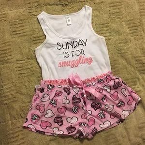 Sunday Snuggles Pajama Set